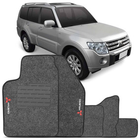 Tapete Pajero Full 08 09 10 11 12 13 14 15 Grafite Bordado