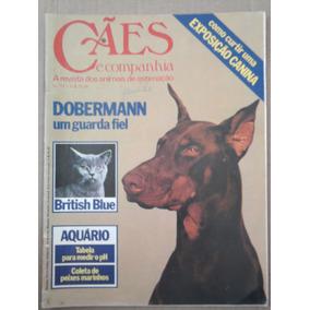 Revista Cães E Companhia N° 13 Jun. 1980 Dobermann Ex
