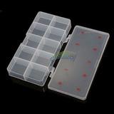 Porta Nail Art Dispenser Caja Vacia X 10 Divisiones