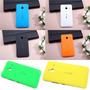 2 Tampas Capa Traseira Celular Lumia 640 Xl + Pelicula Vidro