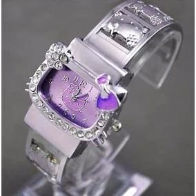 Relógio Infantil Adulto De Pulso Bracelete Hello Kitty Ii