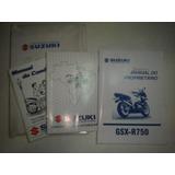 Manual Moto Suzuki Gsx-r750 2004 2005 2006 2007 Original 750