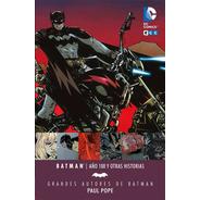 Batman Año 100 Pope Libro Tapa Dura Castellano Ecc España