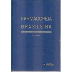 Livro Farmacopeia Brasileira 3ª Edição Org. Andrei