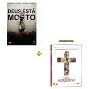 Deus Não Está Morto Dvd + Você Acredita? Dvd  Originais