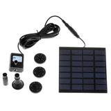 Panel Solar Con Bomba De Agua Para Decoración De Jardines
