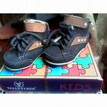 Zapatos Para Bebe Marca Valleverde Tipo Botín Nuevos