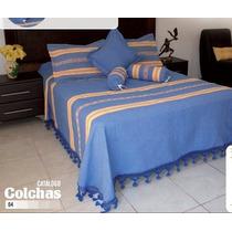 Colchas Artesanales De Manta Gruesa, Colchas Oaxaqueñas