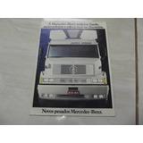 Catálogo Poster Caminhões Pesados Mercedes-benz