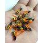 Mosca Fly Fishing Isca Fly Flutuante Kit C/ 6 Moscas Abelha