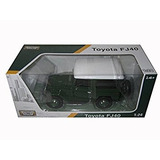 Toyota Fj40 Verde 1/24 Por Motormax