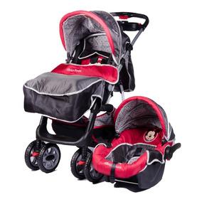 Coche Cuna+huevito+manija Rebatible+baby Seat Envios Disney