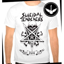 Camiseta Suicidal Tendencies Ou Baby Look Regata Banda Rock