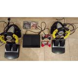 Play 3 500 Gb, 1 Juego, 2 Joystick, 2 Volantes C/pedalera.