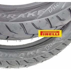Pneu Pirelli 275 17 + 110 80 14 Biz 100 Largo Mandrake Due