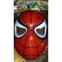 Mascara Hombre Araña Spiderman De Plastico Duro
