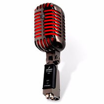 Sjuro Microfone Arcano Vintage Vt-45bk2 Com Maleta Lindo