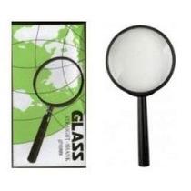 Lupa Glass Cabo Plastico Lente Aumento Zoom 80mm