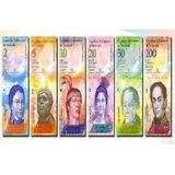 Colección De 6 Billetes De Venezuela Antiguos