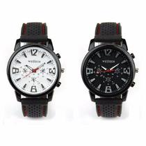 Relógio Masculino Quartz Piloto Aviador Exercito Importado