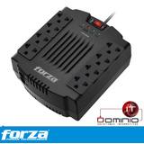 Regulador De Voltaje Forza 1200va 600w Zapatilla Oferta Dit