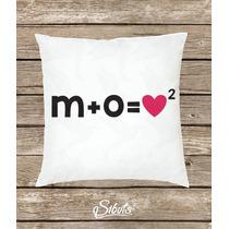 Cojín Decorativo Con Diseño Fórmula De Amor