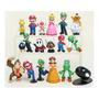 18 Figuras Mario Bros Envío Gratis Set Dhl Luigi Mario Yoshi