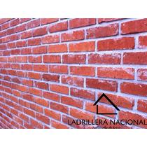 Millar Ladrillo Tabique Rojo 7x14x28 100% Rustico 100% Barro
