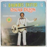 Oscar D´leon 16 Grandes Exitos 1 Disco Lp Vinilo
