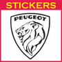 Calco Logo Peugeot 1960 Retro 30 X 26cm