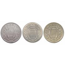 Moedas Antigas Série Completa 300 Réis 1936 1937 1938