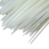 Abraçadeira Em Nylon Branca 2,5mm X 20cm Com 1000 Unidades