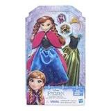 Anna Frozen - Moda Real- Muñeca Hasbro- Giro Didactico