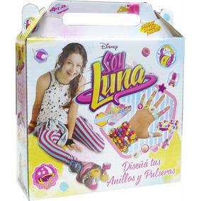 Soy Luna Diseña Tus Anillos Y Pulseras Disney Original