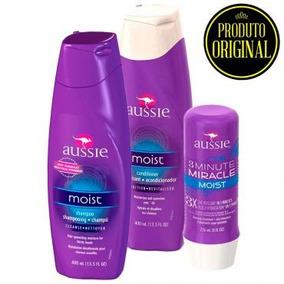 Kit Aussie Shampoo, Condicionador, 3 Minute Miracle Original