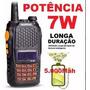Radio Ht Walk Talk Dual Band Uhf Vhf Fm Baofeng Uv-6r 7w