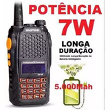 Radio Ht Walk Talk Dual Band Uhf Vhf Fm Baofeng Uv-6r 7w