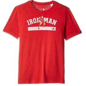 Playera Avengers Ironman Niño adidas Ay4946