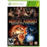 Mortal Kombat Komplete Edition Xbox 360 Nuevo Sellado