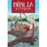 Bíblia Ilustrada Infantil Histórias Crianças 184 Páginas