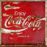 Placa Poster Decorativo Metal #9 30x20cms Aviso Coca Cola