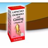 Lapacho Dorado Con Ginseng Y Vit B6 Extracto Bebible 970 Cc