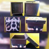 Caixa Mdf Presente Oncinha - Para Pequenas Lembranças