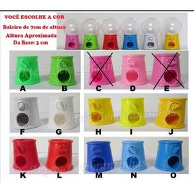 10 Mini Baleiros Candy Machine 7cm Frete Mais Barato