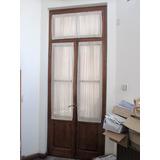 puertas antiguas cedro int vidriadas cmarcos ybanderola