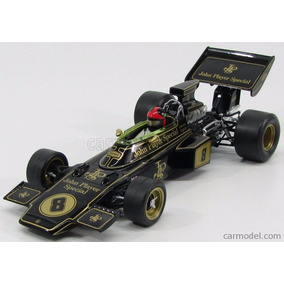 F1 Lotus Ford 72d Emerson Fittipaldi 1:18 British Gp
