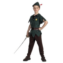 Traje De Peter Pan Niño Estándar: Tamaño 3t-4t