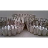 Molde Tarteletas Setx12 Saladitos 6cm Masa Muffin Reposteria