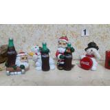 Coleccion Coca Cola Navidad Adornos, Set N 1
