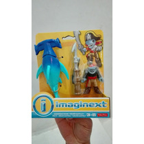 Tiburón Martillo Y Pirata Imaginext. Juguetiness